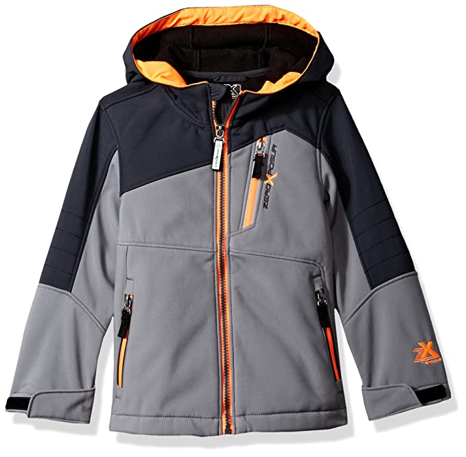 ZeroXposur Little Juvi Boys Spur Softshell Jacket N41002