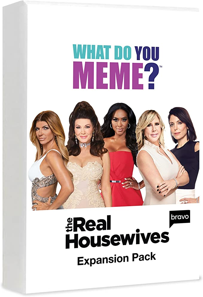 Real Housewives Expansion Pack by What Do You Meme? - Designed to be Added to What Do You Meme? Core Game