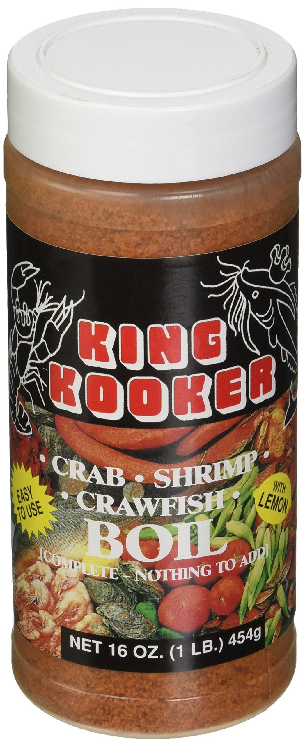 King Kooker 00037 16-Ounce Crab, Shrimp, Crawfish Boil