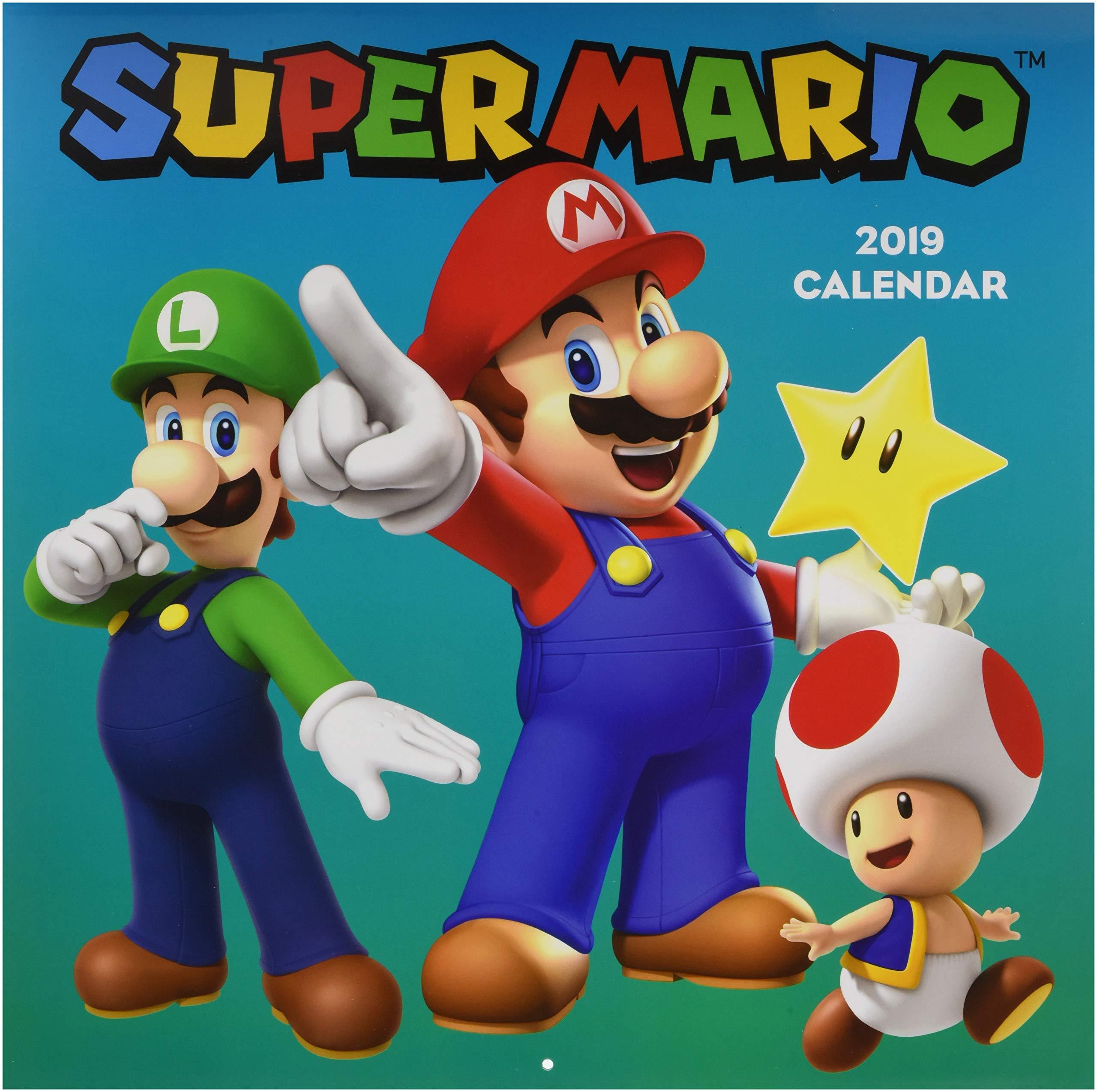 2019 Wall Calendar, Super Mario: Amazon.es: Pokemon: Libros en idiomas extranjeros
