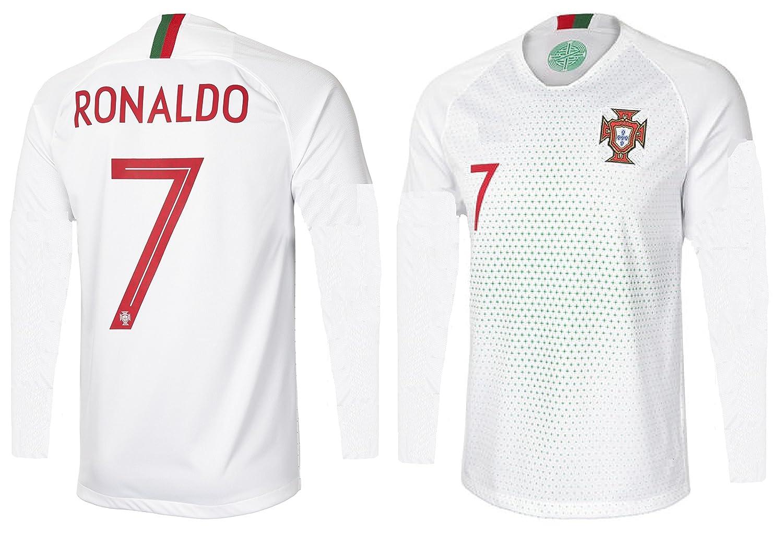 Amazon.com: Portugal Cristiano Ronaldo # 7 playera de fútbol ...