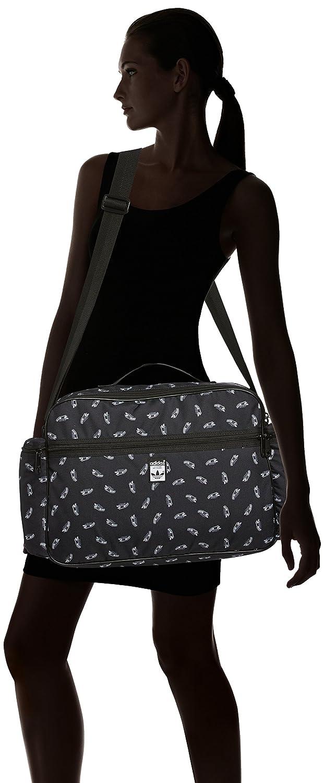 adidas Herren Tasche Superstar Airliner BlackWhite, 10 x 46
