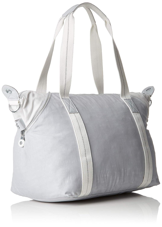 Kipling dam art handväska, 44 x 27 x 20 cm Grå (aktiv grå bl)