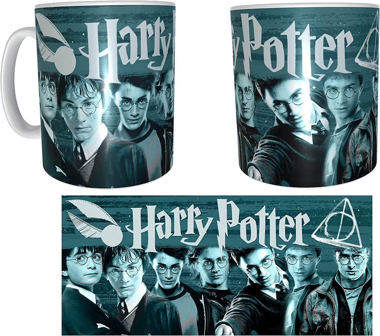 Los Eventos de la Tata. Taza de los Personajes de Harry Potter