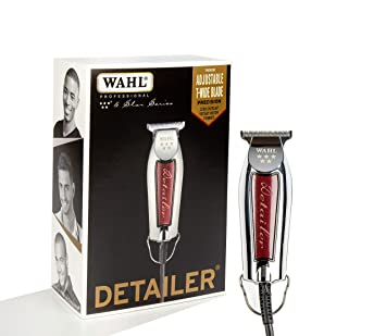 fa7c88357 Wahl Professional Series Detailer #8081 - With Adjustable T-Blade, 3  Trimming Guides