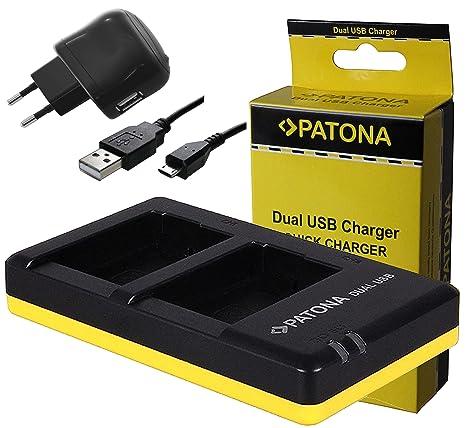Dual Cargador de batería Carga Charger para Fuji Fujifilm NP ...