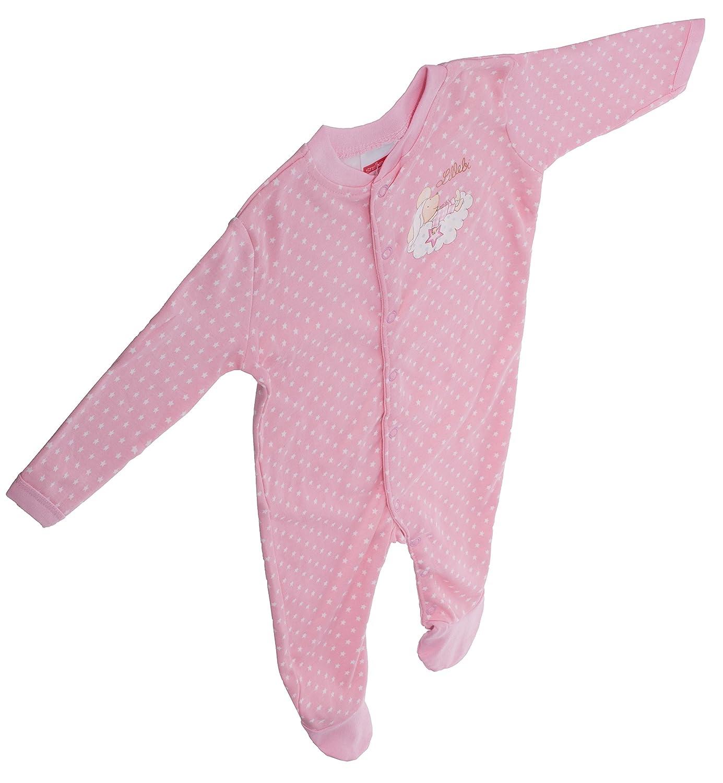Farbe: Rosa 0-6 Monate Baby Strampler Lillebi f/ür M/ädchen Strampelanzug Baumwolle von ca Gr/ö/ße: 62//68 von Steinbeck