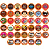 Two Rivers Coffee Hot Chocolate and Coffee Pods Assorted Variety Pack, Compatible with Keurig K Cup Brewers, Chocoholic, 40 C