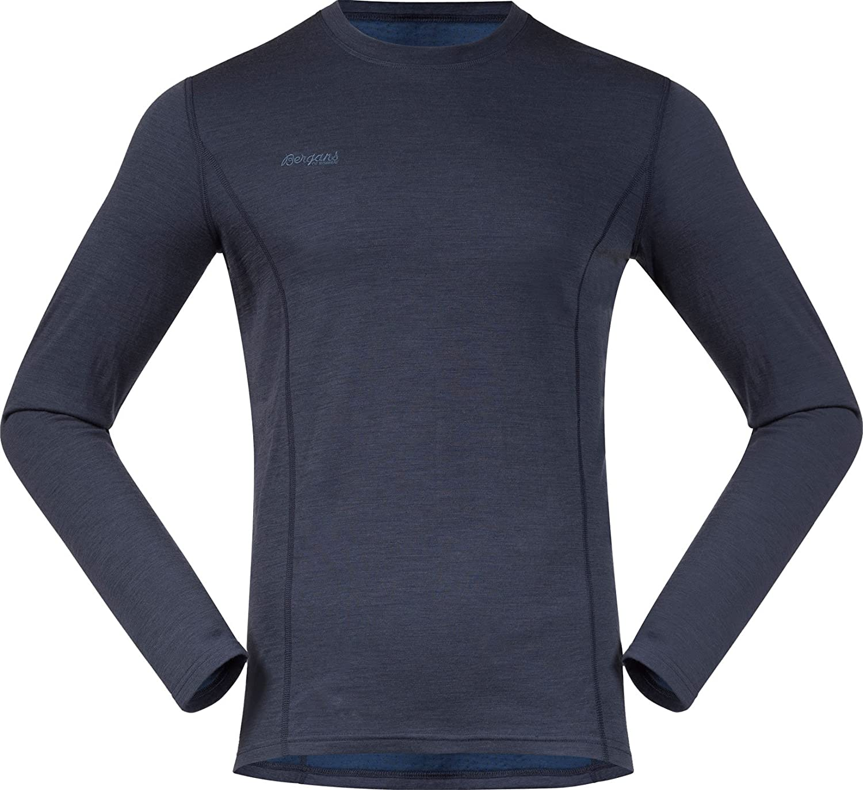 Bergans Akeleie Longsleeve Merinowolle Shirt Men - 220er Funktionswäsche mit Merinowolle Longsleeve 54e34e