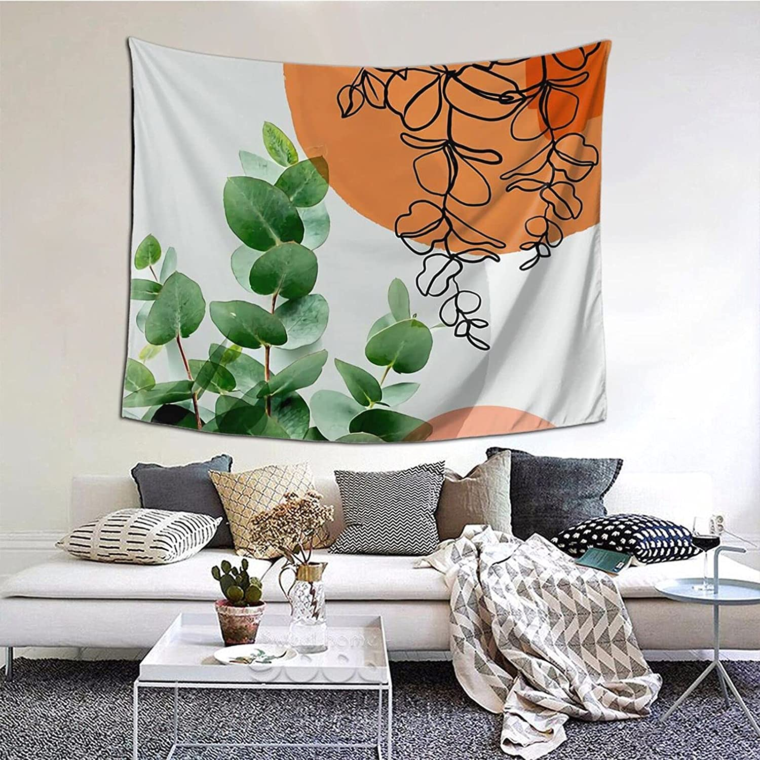 Shenghengyu Simpatico Home Tapestry For Bedroom And Liveing Room Tapestries Bespoke Size Order Wall Hanging 61*50inch