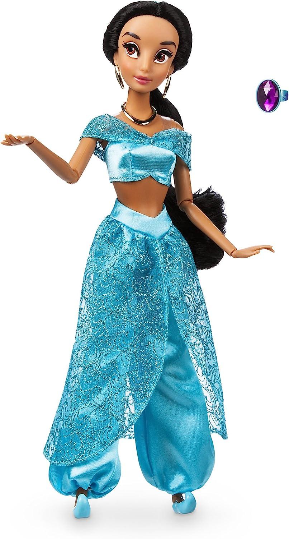 Amazon Com Disney Jasmine Classic Doll With Ring Aladdin 11