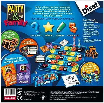 Diset - Party & Co Family, (ref. 10118): Amazon.es: Juguetes y juegos