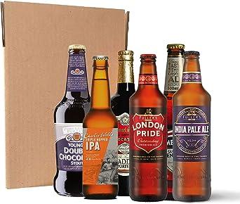 Pack de cervezas británicas (24 botellines/latas de 33 cl y 50 cl): Amazon.es: Alimentación y bebidas