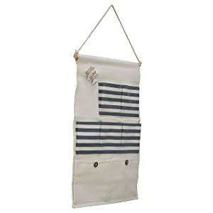 EZ Life Daily Wall Hanging Organizer - Blue Stripes