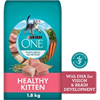 Purina ONE Healthy Kitten Food, Dry Cat Food 1.8 kg