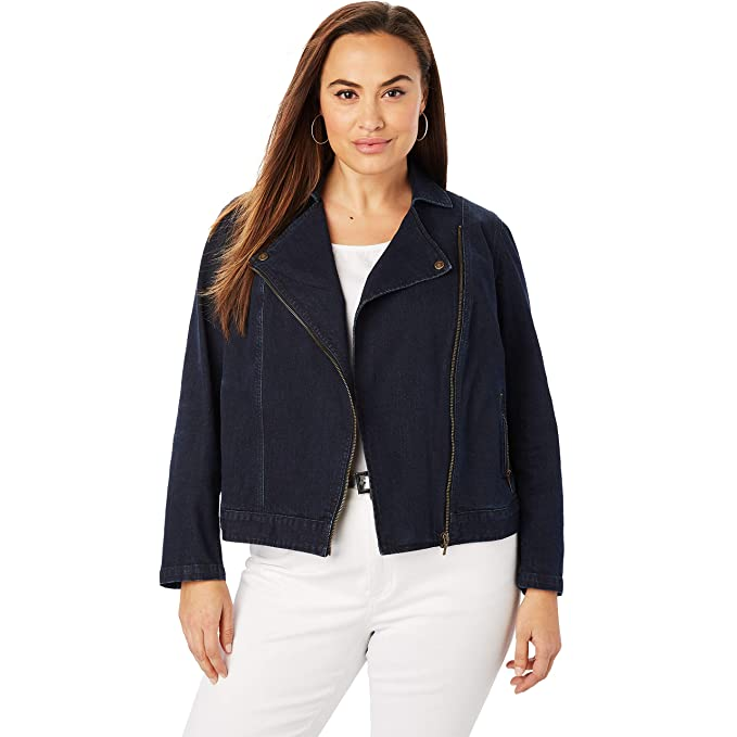 Amazon.com: Jessica London - Chaqueta para mujer (talla ...