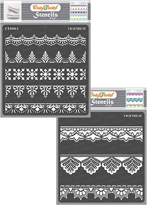Top 10 Stensils And Stamps For Decorating Home