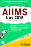 AIIMS November 2018: with explanatory Answers and Image-based Questions