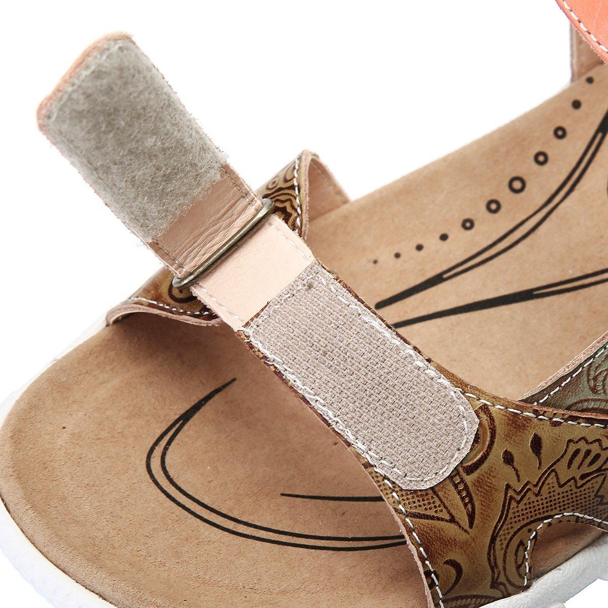Calzado Gracosy Zapatos Deportivo Hook Sandalias Mujer Verano Planas wPkOn0