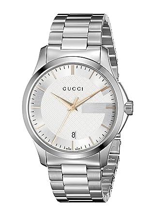 16d4f60942 Orologio Uomo Gucci YA126442: Amazon.it: Orologi