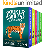 Booker Brothers Detective Agency Mysteries: Complete Series Boxed Set, Books 1-5