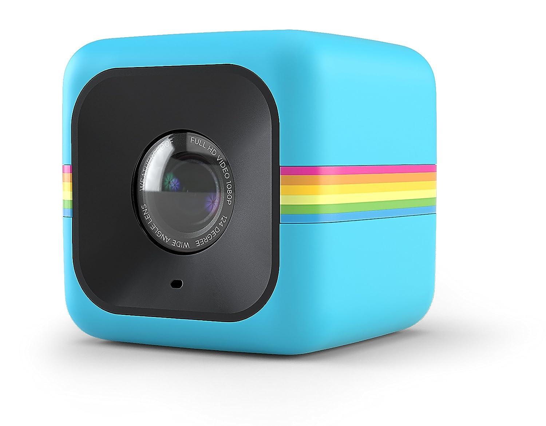 Polaroid Cube+ 1440p Mini Lifestyle Action Kamera mit Wi-Fi & Bildstabilisator (Rot) C&A marketing UK LTD POLCPR