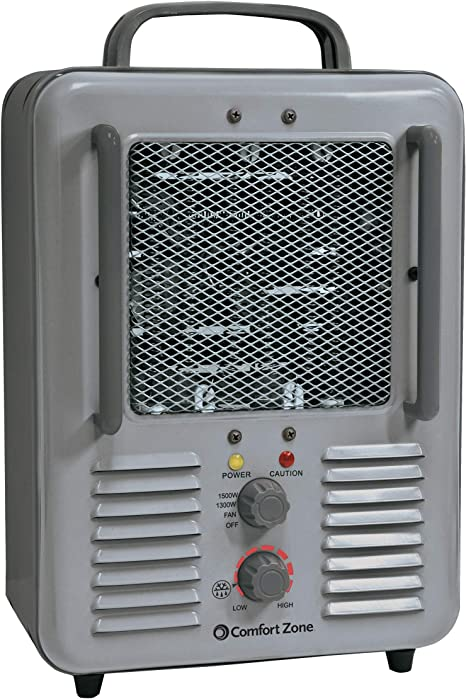 Amazon Com Comfort Zone Cz798 5120 Btu Multi Purpose Utility Heater Fan Home Kitchen