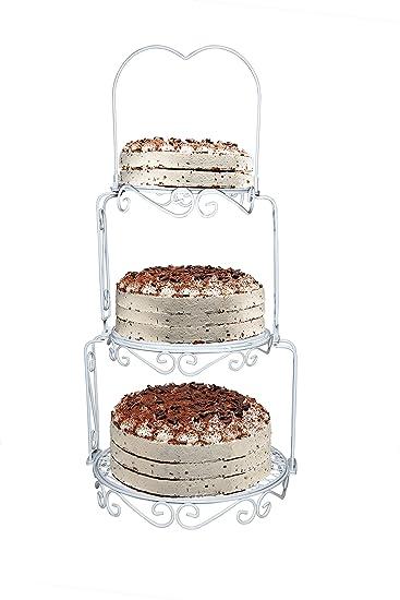 Achilles Hochzeitstortenstander 3 Etagen Kuchenetagere