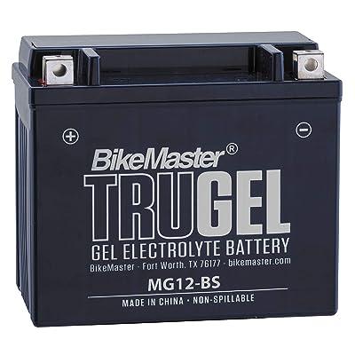 1990 Honda PC800 Pacific Coast TruGel Battery - MG12-BS, Manufacturer: BikeMaster, TRUGEL BATTERY BM MG12-BS: Automotive