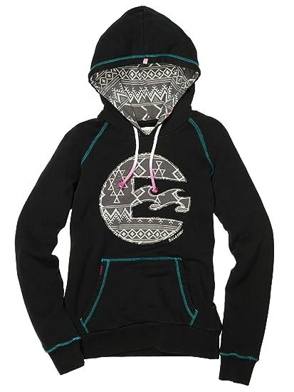 Billabong Pullover Back In The Sun - Sudadera para mujer, color negro, talla S