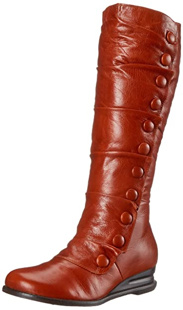 Miz Mooz Women's Bloom Boot, Rust, ...