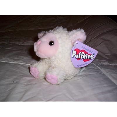 "Puffkins Lamb ""Priscilla"" Plush: Toys & Games"