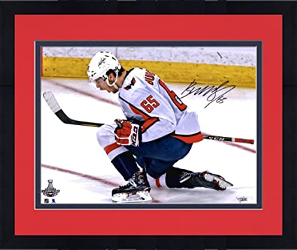 03cf1e559 Framed Andre Burakovsky Washington Capitals 2018 Stanley Cup Champions  Autographed 16 quot  x 20 quot  Stanley