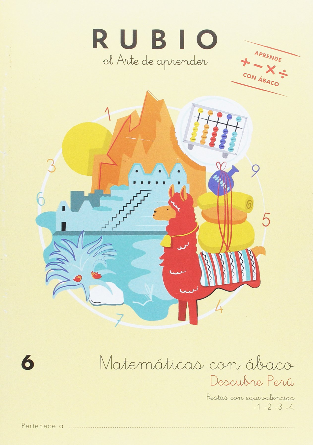 MATEMATICAS CON ÁBACO 6: Amazon.es: ENRIQUE RUBIO POLO, S.L.U.: Libros