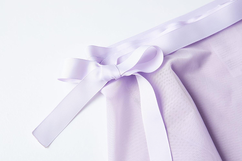 MdnMd Girls Ballet Wrap Skirt with Tie Waist