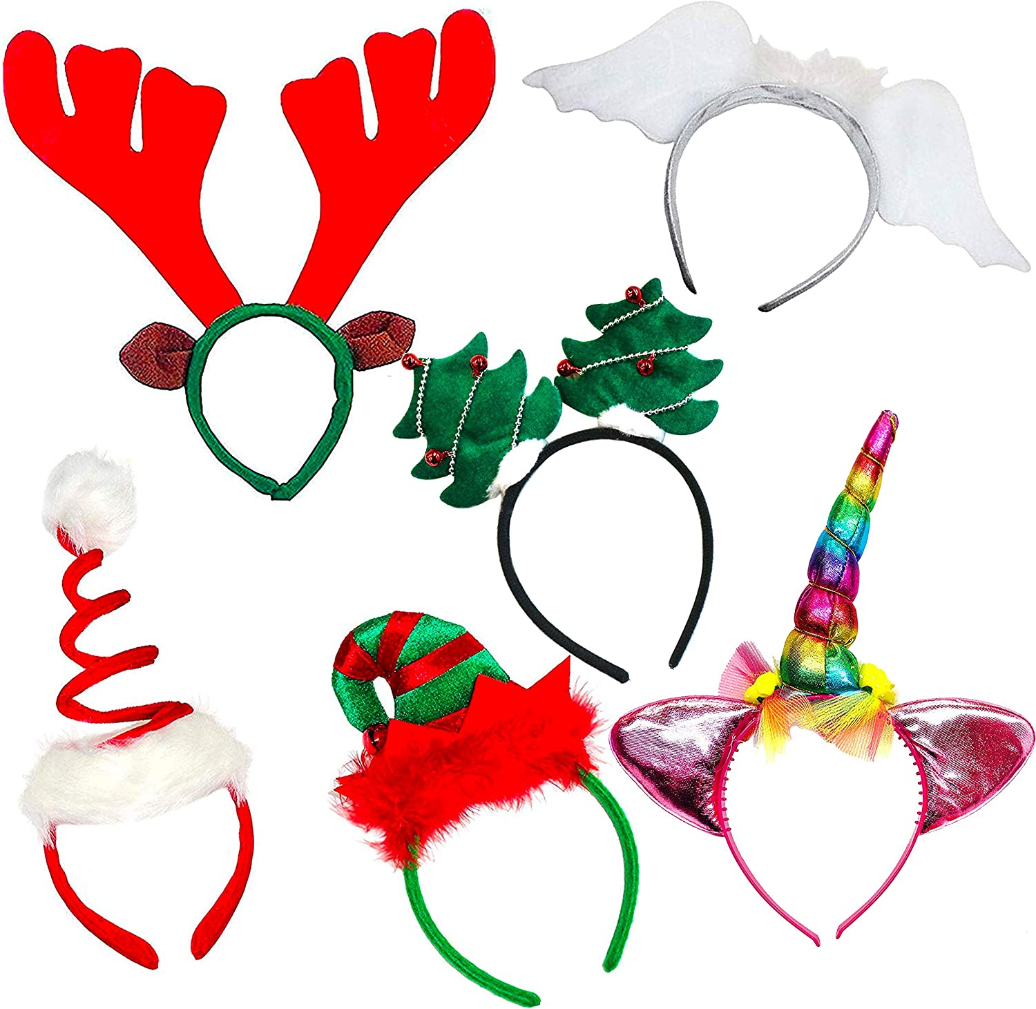 Fun Merry Christmas Santa Glasses Frame Xmas Fancy Dress Party Decor Kids Love