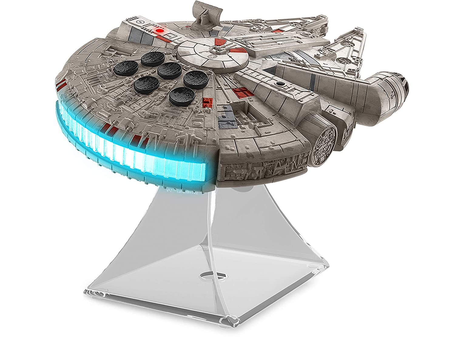 Star Wars Millenium Falcon Bluetooth Speaker Portable Wireless Crystal  Clear for Home, Travel, Outdoor, Rechargeable, Compatible with iPhone  Samsung