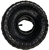4.10/3.00-4 Tire and Tube Set for Wheelbarrow and