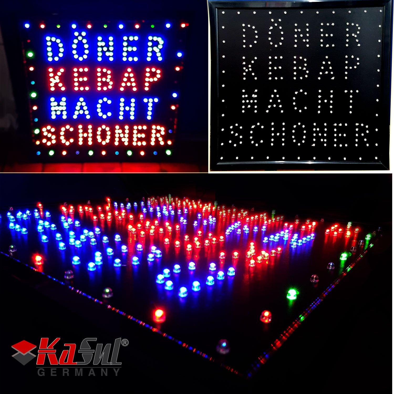 kasul® Alemania | XXL - LED Cartel | Döner kebep Hace ...