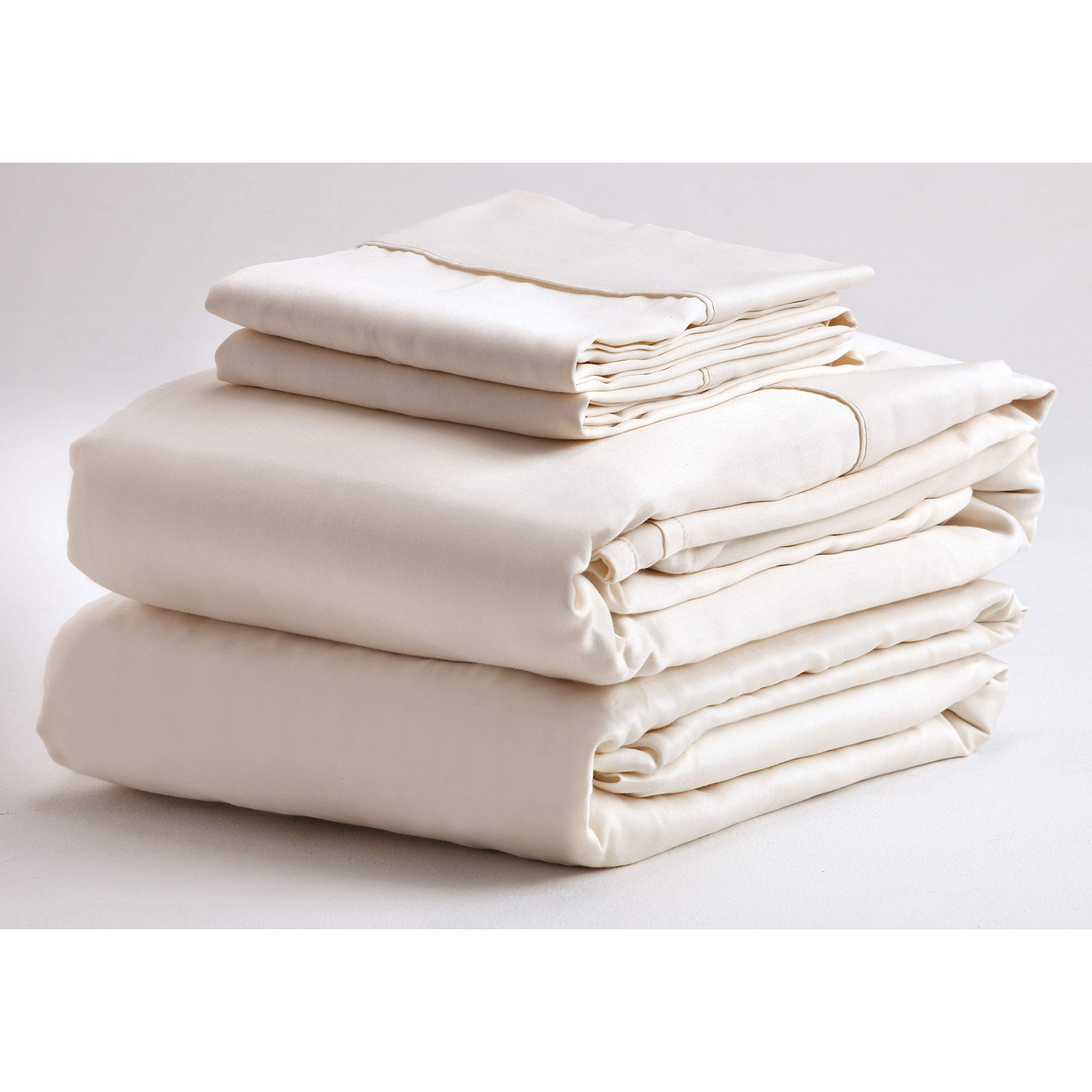Denver 343533 RV King Size Adjustable Sheet Set Ivory