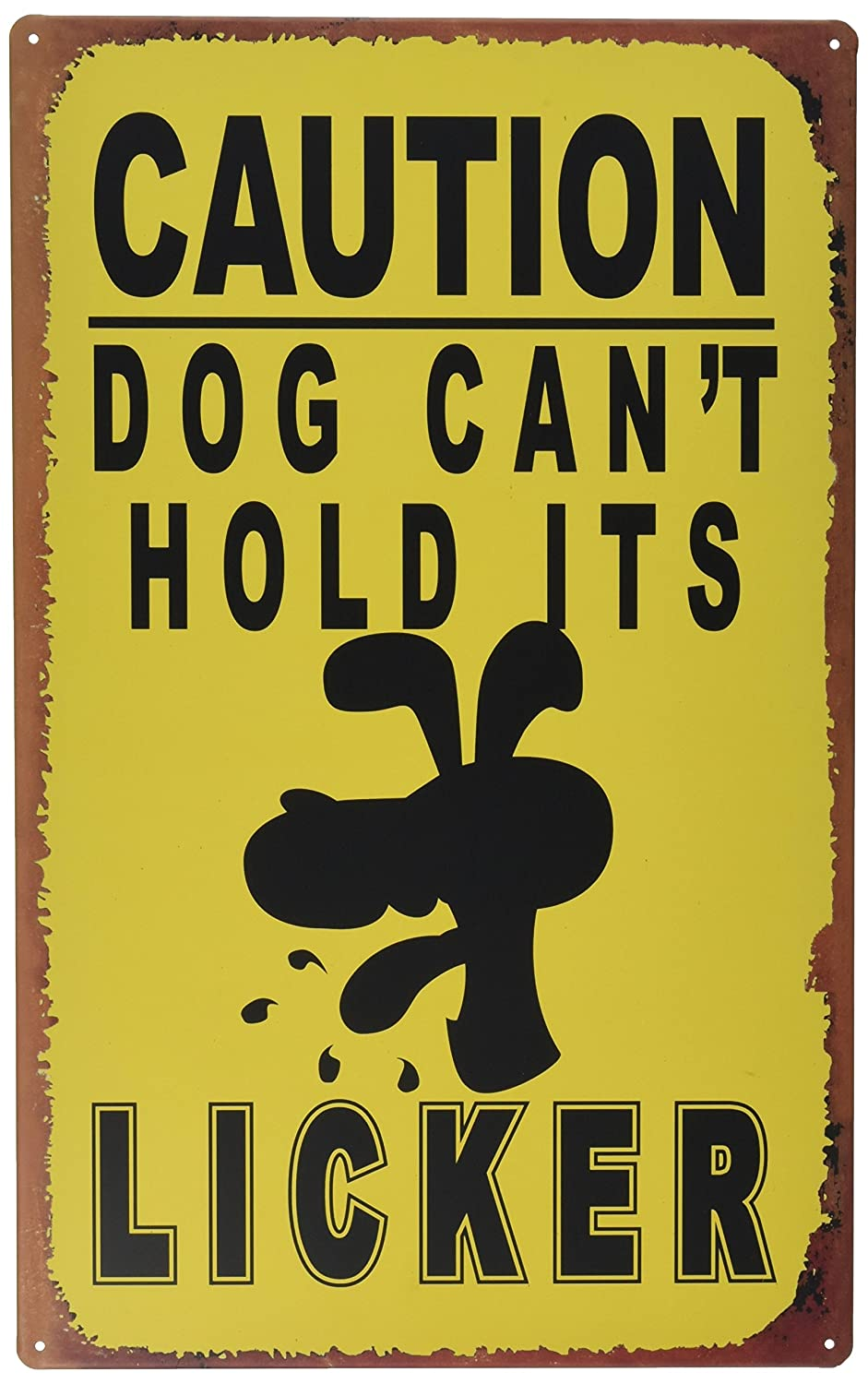 Amazon.com: Ohio Wholesale Licker Caution Sign Wall Art, from our ...