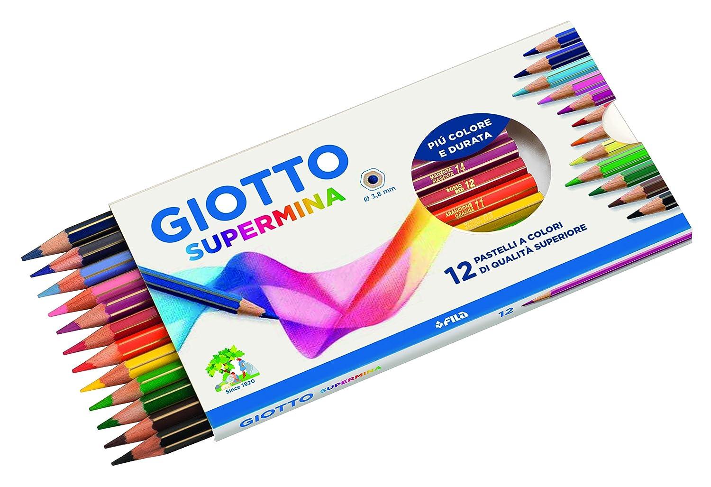 Giotto Cf12Pastelli Supermina