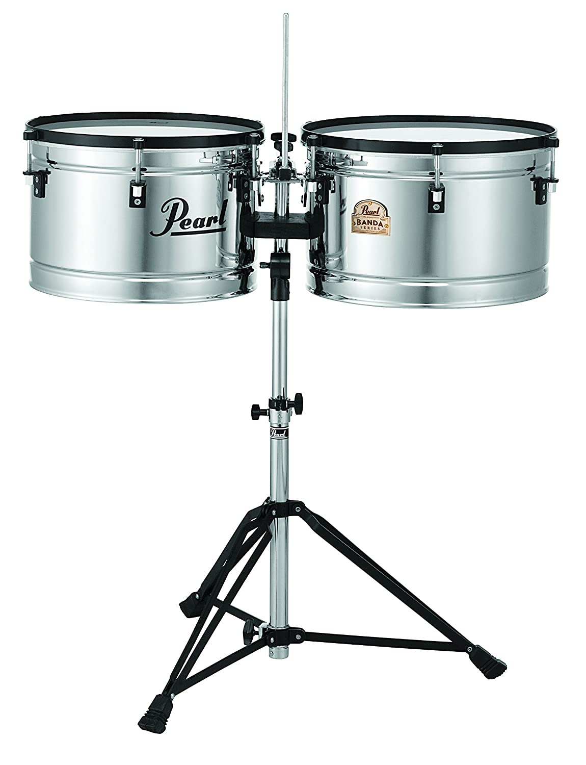 Pearl PBTM1516/C 15 x 10 Inches and 16 x 10 Inches Banda Timbales Pearl Corporation