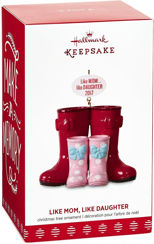 Like Daughter Hallmark Boots 2013 Like Mom Keepsake Christmas Ornament
