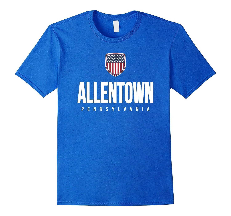 Allentown Pennsylvania T-shirt City Hometown Travel Souvenir-CD