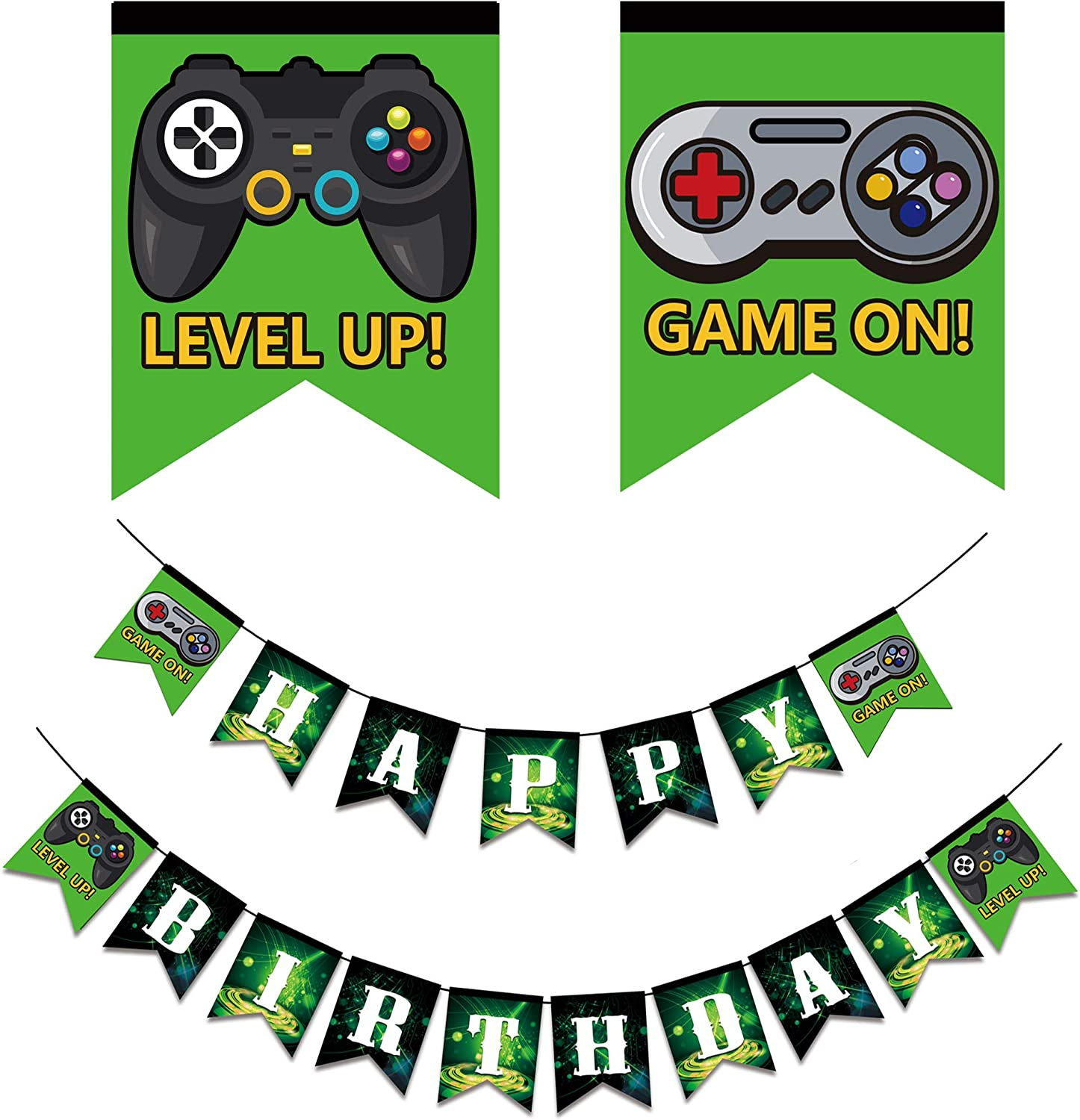 computer Party props decorations ALL video games geek GAMER