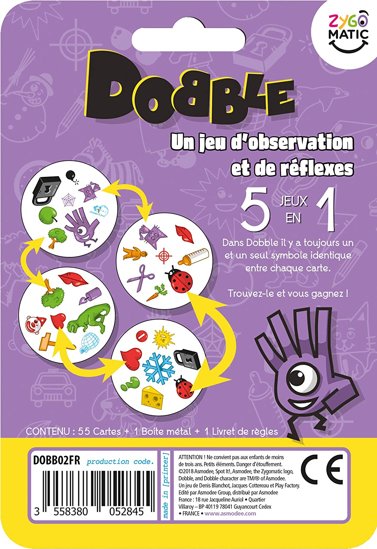 background game Asmodée dobble classic blister dobb 02fr