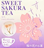 "1 X Sweet cherry tea 6bag ""Entering flower of the Cherry blossom""?Sakura"