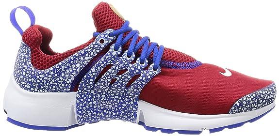 buy online fefac ff144 Amazon.com   Nike Men Air Presto Qs Safari Pack red Gym red Racer Blue-White    Basketball