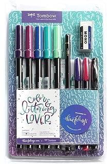 Tombow Watercoloring Set (Floral + Greenery Bundle Kit) incluye ...